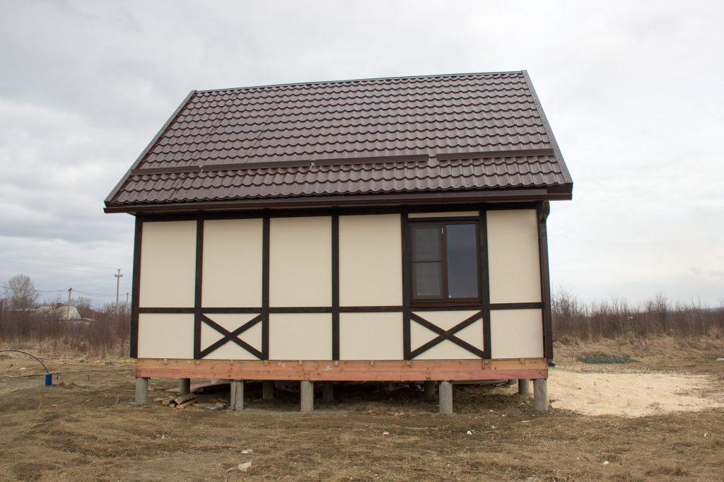 каркасные дома в краснодарском крае фото находятся люди